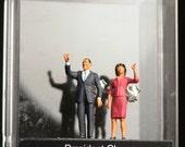 Presidential Earrings Michelle & Barack Obama Stud