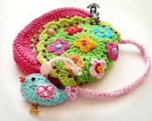 "Crochet bag / purse pdf pattern "" Birdie purse """