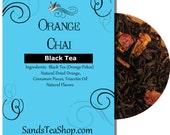 Orange Chai Tea Blend - 1 oz Sample