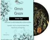 Citrus Green Tea - Sample