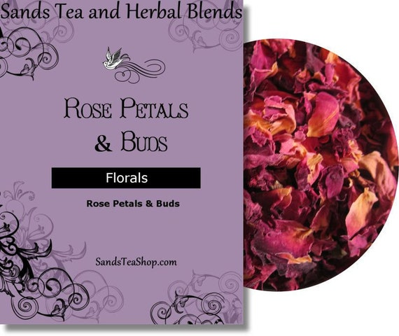 Rose Petals and Buds - 1 oz Sample