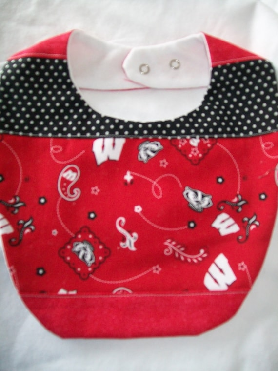 Wisconsin Badger  BaBy Bib