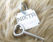 Pet ID tag for Dogs and Cats - Plus shape