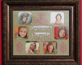 Personalized picture frame collage / Grandparent Gift / Family Photo Frame / Custom Picture Frame
