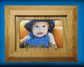 Grandparent Gift / 5x7 Personalized Picture Frame / Great Christmas Present / Gift For Grandma / Personalized Name Frame