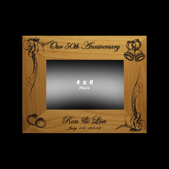 Personalised 50th Wedding Anniversary Gifts: Anniversary Gift / 25th 50th Wedding Anniversary Personalized