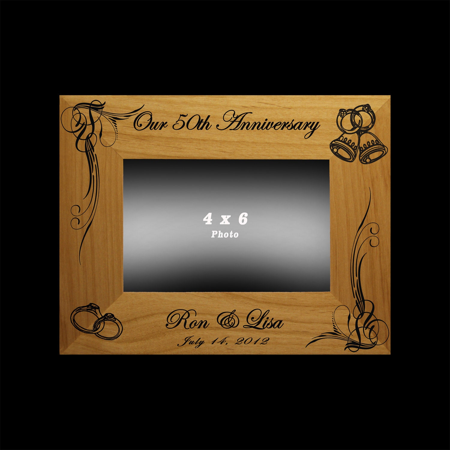 Anniversary gift 25th 50th wedding anniversary personalized for 50 th wedding anniversary gifts