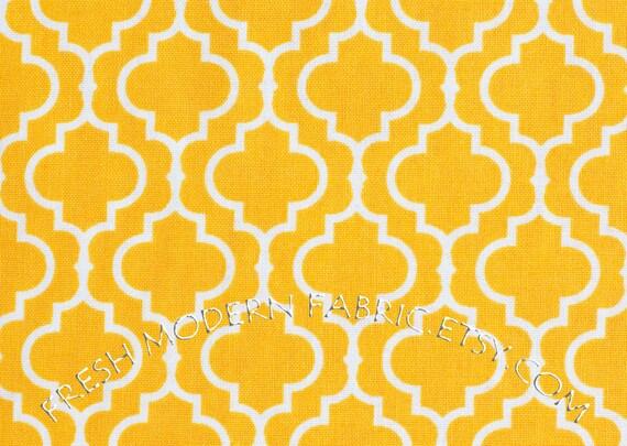 Half Yard Tiles in Marigold, Metro Living, Robert Kaufman, 100% Cotton Fabric