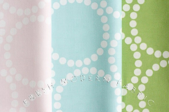 Fat Quarter Bundle Hello Pilgrim Pearl Bracelet Prints, Lizzy House for Andover Fabrics, 100% Cotton Fabric