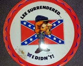 "Vintage ""Lee Surrendered"" Serving Tray"