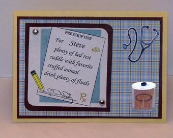 Get Well Card - Custom Get Well