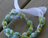 """ORGANIC """"Chic Chewelry"""" for mom and teething baby """"Cloud 9"""""""