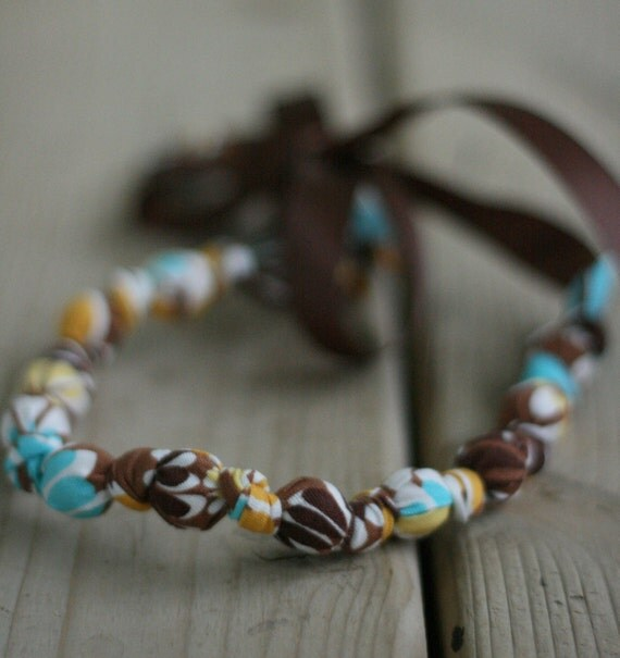 """ORGANIC """"Chic Chewelry"""" for mom and teething baby """"Southern Charm"""""""