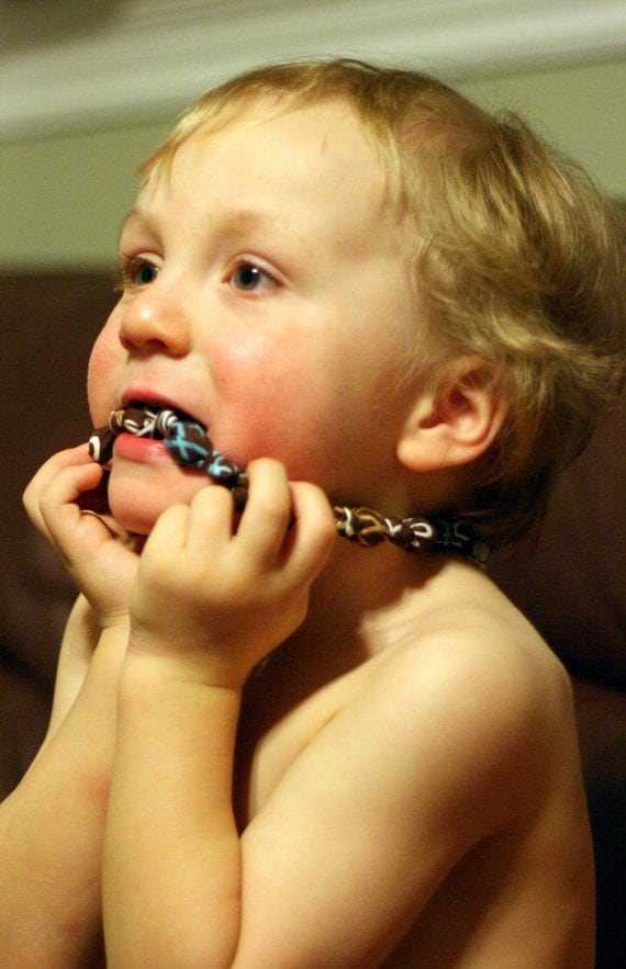 Chewelry for children with special sensory needs