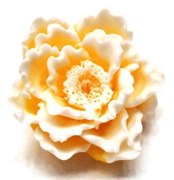 Sunshine Peony Soap - Decorative Gift Soap - Vegan Friendly