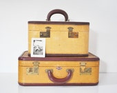 Early Mid-Century Suitcase