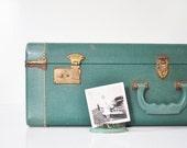Mid-Century Hard Shell Suitcase