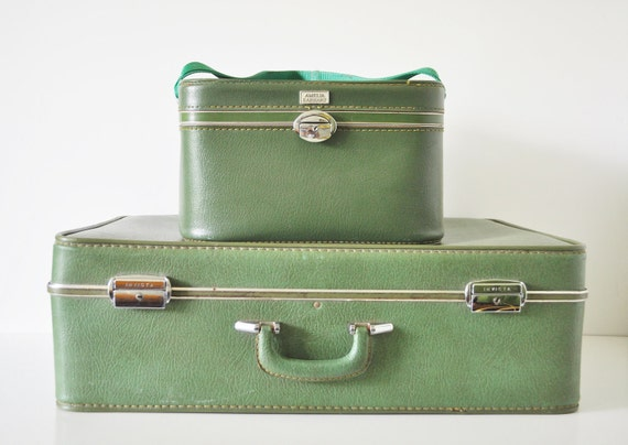 Large Green Suitcase