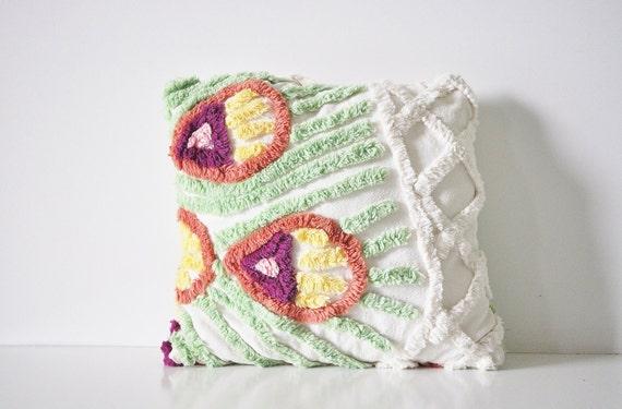 Petite Chenille Pillow