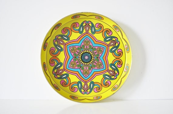 Psychedelic Serving Tray