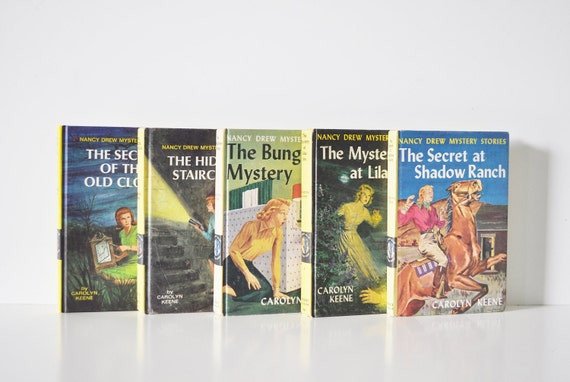 Nancy Drew Book Collection -  Volumes 1-5