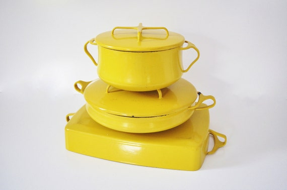 "Dansk Kobenstyle Pot / Paella Pan - 14"" Inch"