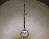 Crystal Sun Catcher 40mm clear sphere (good feng shui)