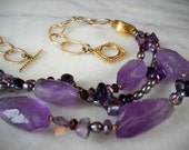 The Royalty Necklace - Amethyst
