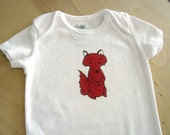 Baby Fox Baby Onesie Bodysuit, Short Sleeve, Baby Girl or Boy, Unisex, baby, shower gift