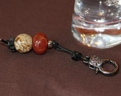 Fire Agate and Picture Jasper Healthy Horse