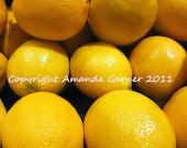Make Lemonade 8X10 Photo Print