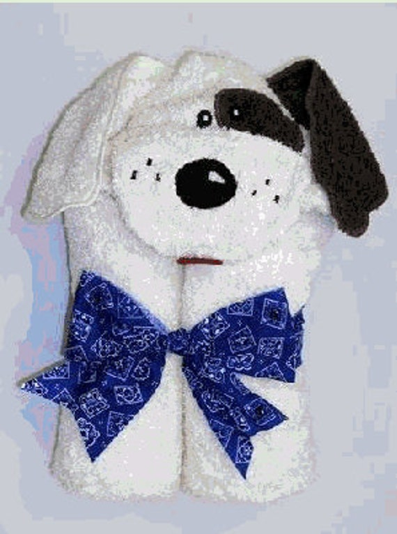 Hooded Towel-Dog, Personalized for You