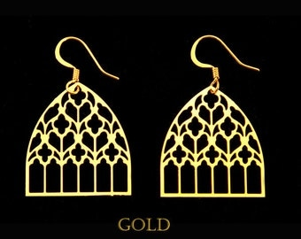 Bassac Cathedral Gothic Earrings