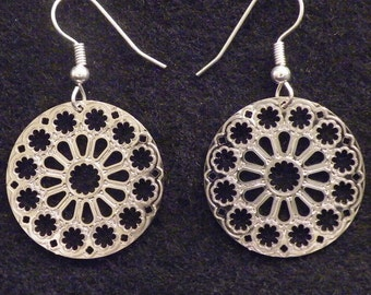 Chartres Cathedral Gothic Earrings small
