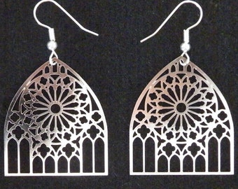 Metz Cathedral Gothic Earrings