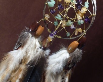 Dream Catcher- Dancing in the Wind-Devils Claw Dream Catcher- Made to Order