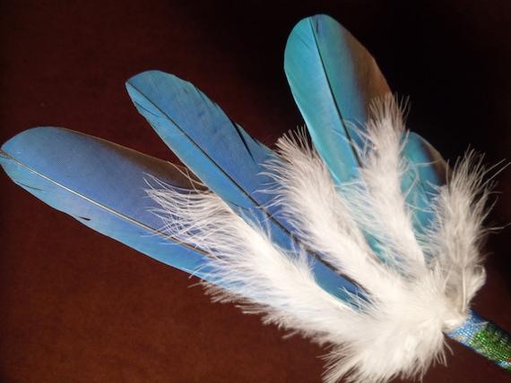 Smudge Fan- Peyote Stitch-Spirt Tree- Sacred Smudge Fan -