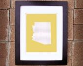 Arizona State Print - 8x10 Printable Art