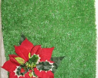 Astroturf Poinsettia Messenger bag