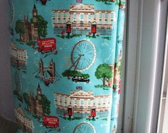 Tote Bag Shopping Bag London British Laminated Tote