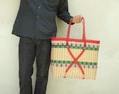 X-Large Market Basket -red-