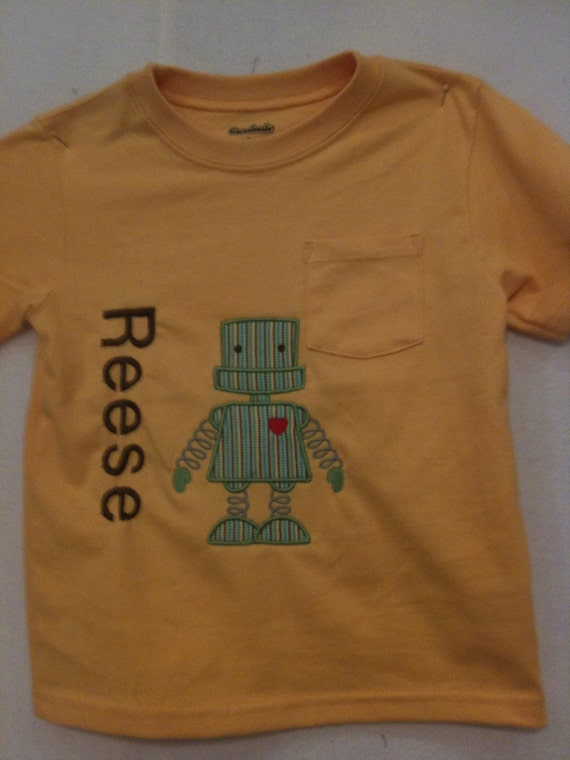 Two boys robot shirts reserved for busterkitty