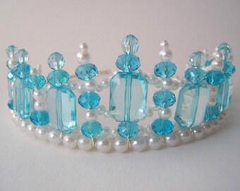 Child's Turquoise Princess Tiara