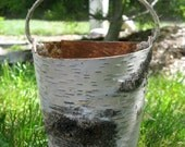 Handcrafted Birch Bucket