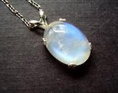 Bella Rainbow Moonstone - Everyday Necklace