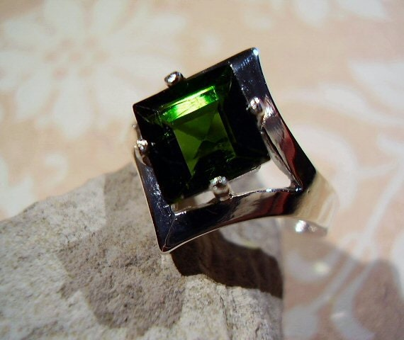 Maleficent's Green Tourmaline - Ring