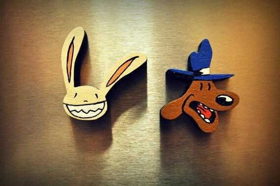 Sam & Max Fridge Magnets