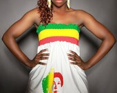 BLACK GODDESS DRESS - Empress Menen (made to order)