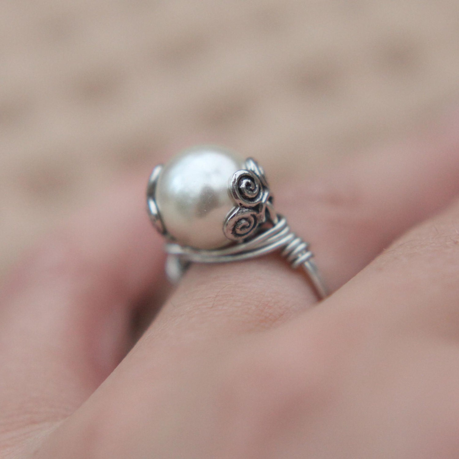 SALE JEWELRY TUTORIAL how to make a wrapped wire ring video