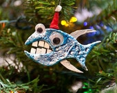 Handmade Fish Ornament